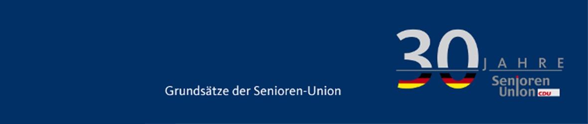 Die Grundsätze der Senioren-Union