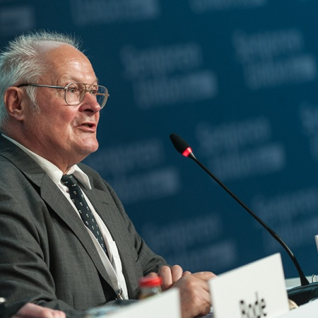 Tagungspräsident Prof. Dr. Wolfgang Merbach