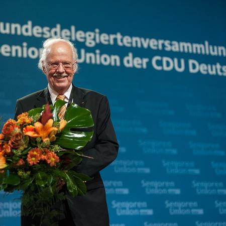 Bundesvorsitzender Prof. Dr. Otto Wulff mit 96,2 Prozent im Amt bestätigt