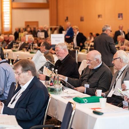 Delegierte der 16. Bundesdelegiertenversammlung