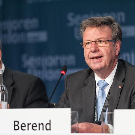 Vorsitzender der Antragskommission - Rolf Berend