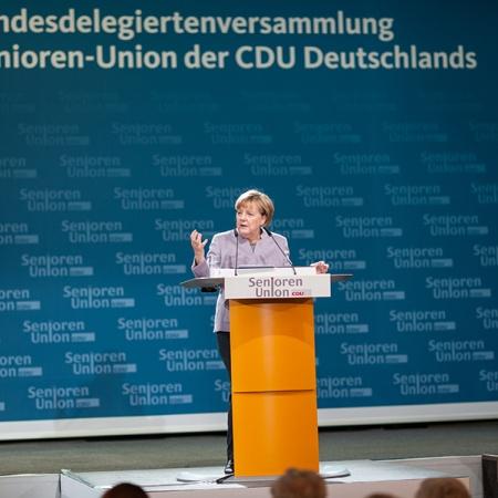 Rede der Bundeskanzlerin und Bundesvorsitzenden der CDU Dr. Angela Merkel