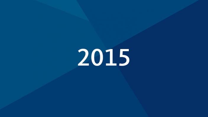 Aktuelle Meldungen 2015