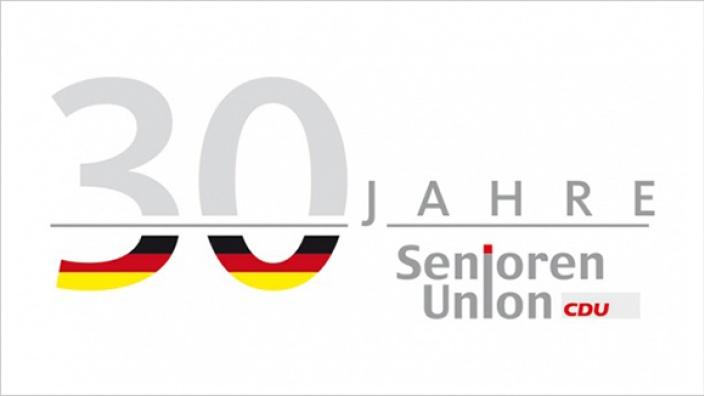 Jubiläumslogo 30 Jahre Senioren-Union (4c)