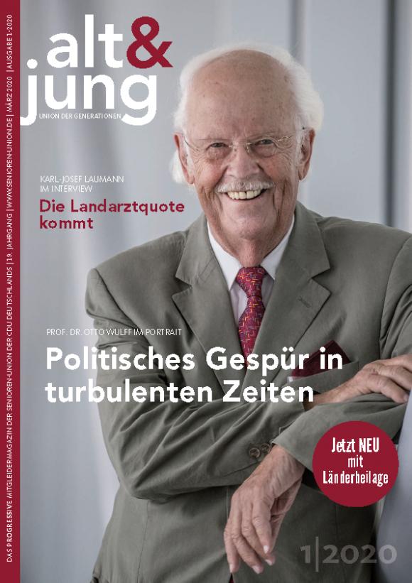 """Ausgabe 1/2020 """"alt & jung"""""""