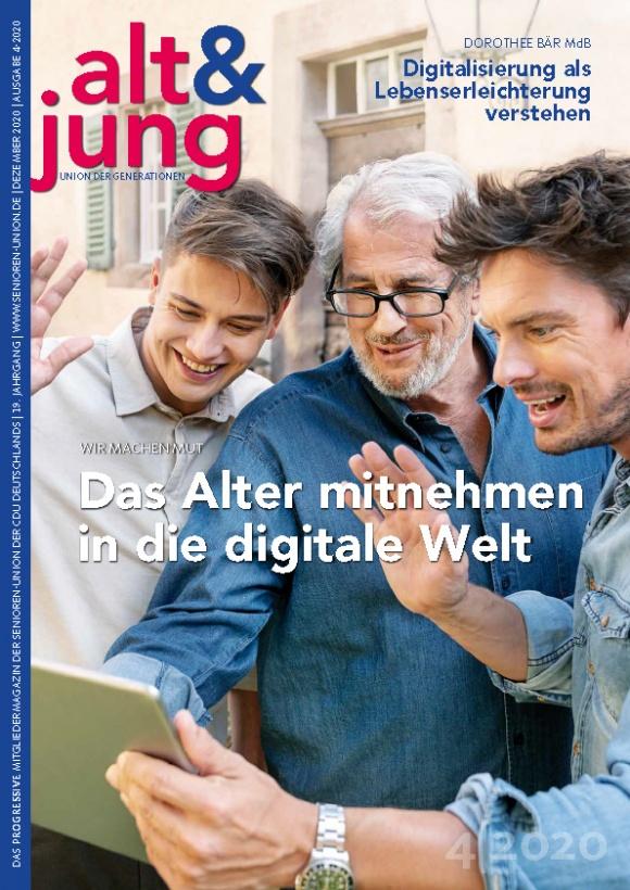 """Ausgabe 4/2020 """"alt & jung"""""""