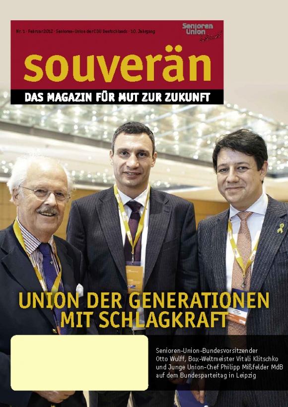 """""""SOUVERÄN"""" - Ausgabe 01/2012"""