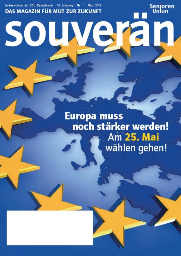 """""""Souverän"""" - Ausgabe 01/2014"""