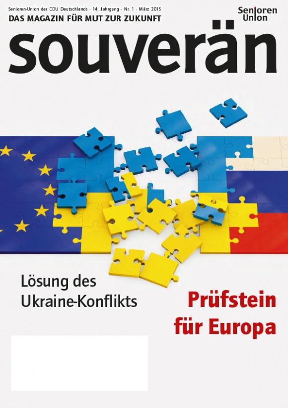 """""""SOUVERÄN"""" - Ausgabe 01/2015"""