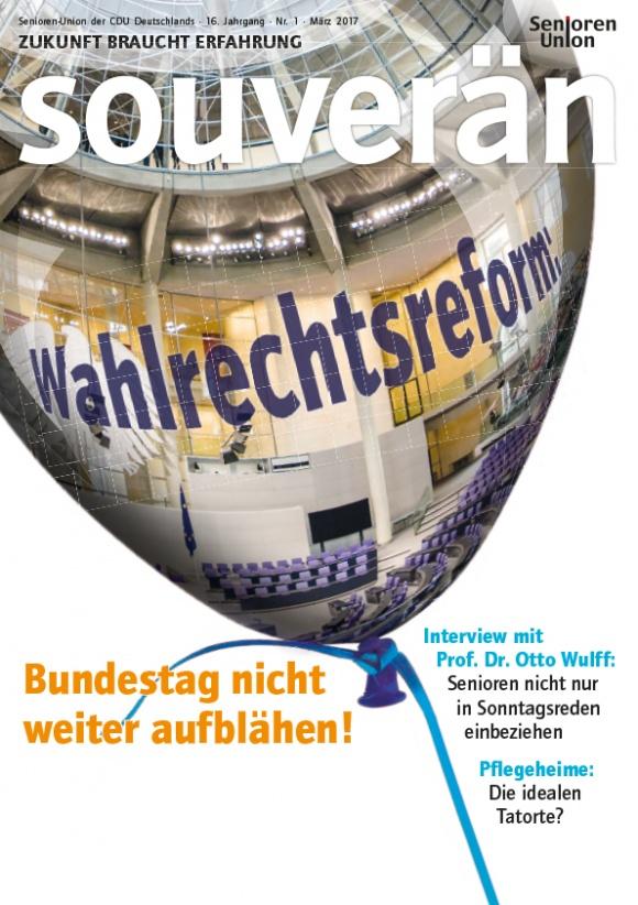 """""""SOUVERÄN"""" - Ausgabe 01/2017"""