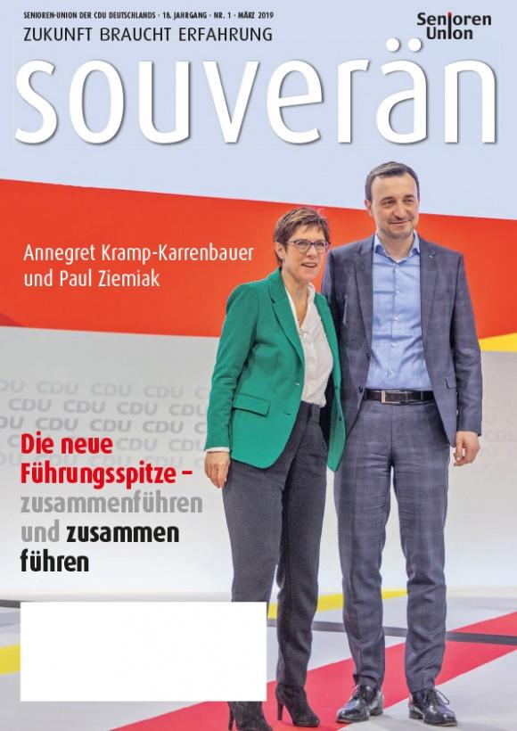 """""""Souverän"""" - Ausgabe 01/2019"""
