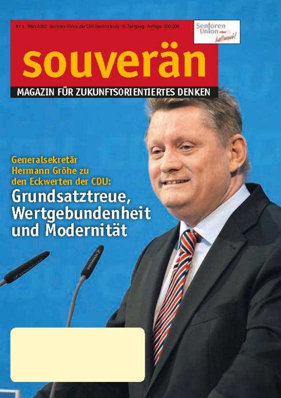 """""""SOUVERÄN"""" - Ausgabe 01/2010"""