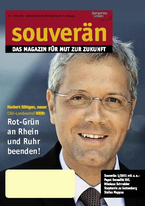 """""""SOUVERÄN"""" - Ausgabe 01/2011"""
