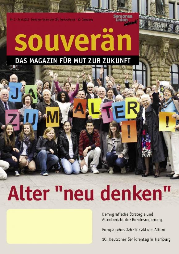 """""""SOUVERÄN"""" - Ausgabe 02/2012"""