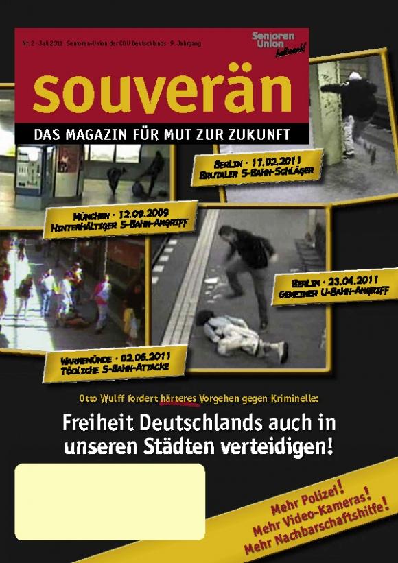 """""""SOUVERÄN"""" - Ausgabe 02/2011"""