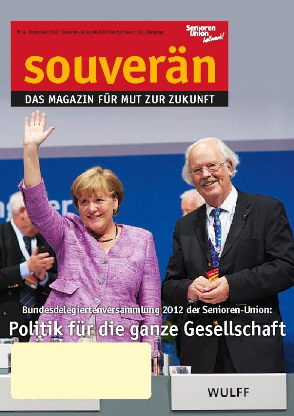 """""""SOUVERÄN"""" - Ausgabe 04/2012"""