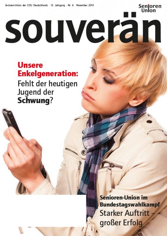 """""""SOUVERÄN"""" - Ausgabe 04/2013"""