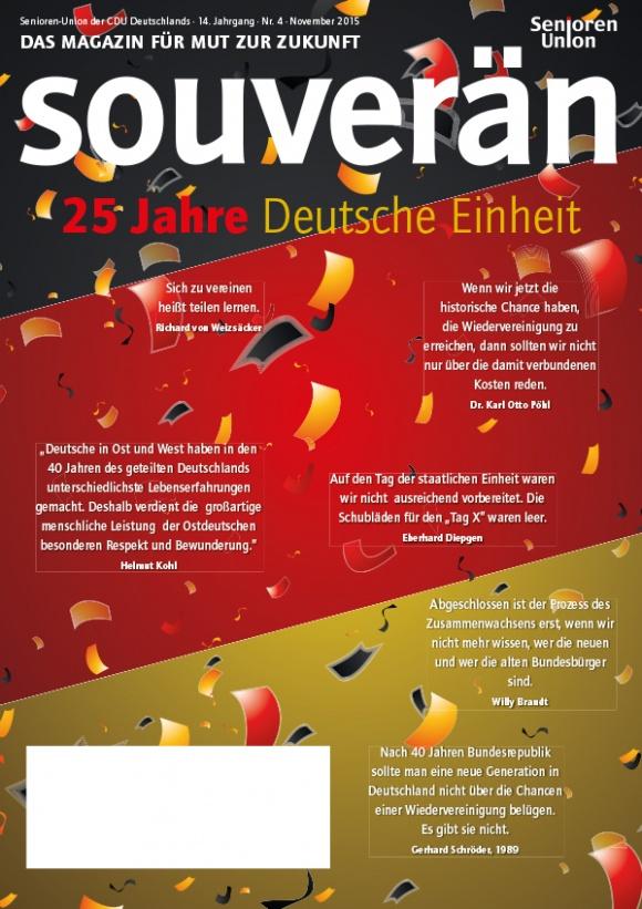 """""""SOUVERÄN"""" - Ausgabe 04/2015"""