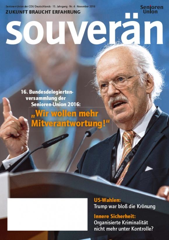 """""""SOUVERÄN"""" - Ausgabe 04/2016"""