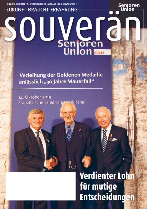 """""""Souverän"""" - Ausgabe 04/2019"""