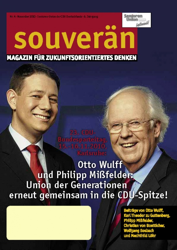 """""""SOUVERÄN"""" - Ausgabe 04/2010"""