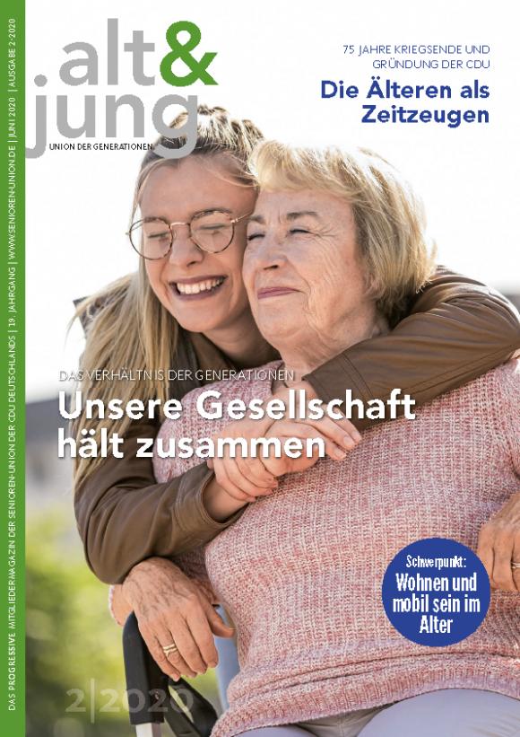 """Ausgabe 2/2020 """"alt & jung"""""""